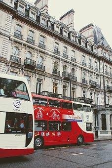London, Bus, Dop, Double Decker, Traffic, Street Scene