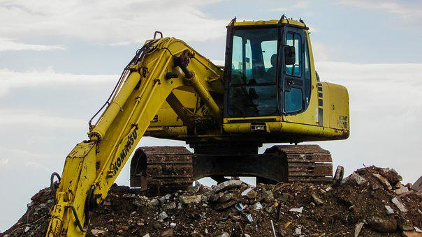 Digger, Heavy Machine, Equipment, Excavator, Vehicle