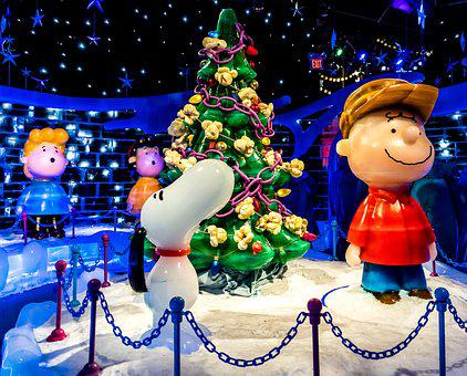 Ice Sculptures, Gaylord Palms, Exhibit, Charlie Brown