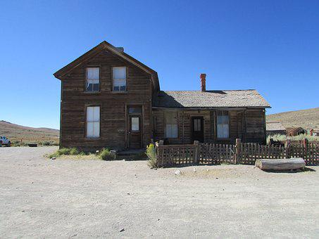 Mine, Bodie, California, Gold, Town, Ghost, Historic