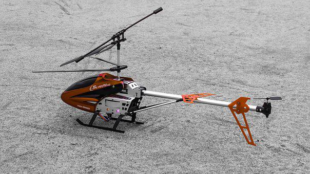 Helicopter, Model, Propeller, Aircraft, Toy