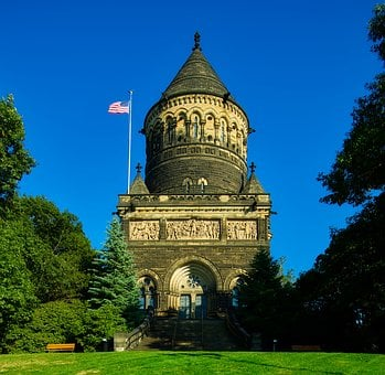 James Garfield, Memorial, Grave, Landmark, Historic