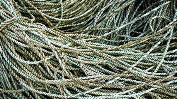 Rope, Tangle, Nautical, Marine, Cord, Pattern, Knot