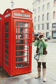 London, Telefonhäusschen, Phone, Dispensary, Red