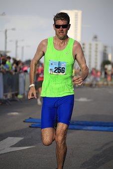 Marathon, Triathlon, Morning, Runner, Athlete, Race
