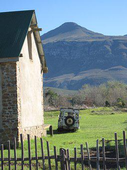 Greyton, Country Home, Mountains, Land Rover, Fence