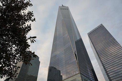New York, City, Usa, One World Trade Center, America