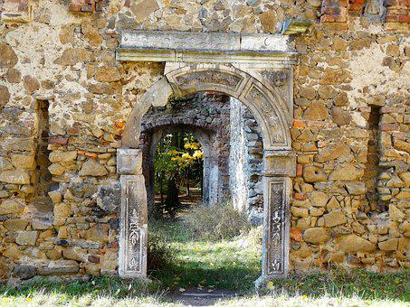 Monument, The Ruins Of The, Poland, Old Prince