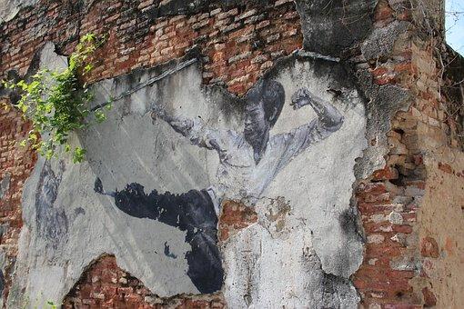 Malaysia, Penang, Unesco, Bruce Lee, Georgetown, Mural