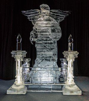 Ice Sculptures, Gaylord Palms, Exhibit, Religious