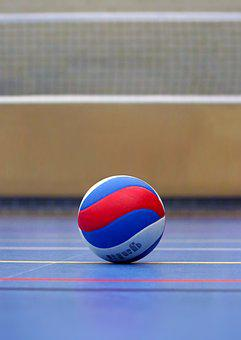 Volleyball, Ball, Volleyball Field, Sport, Volley