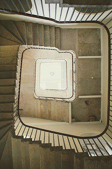Staircase, Summerset House, London, Spiral Staircase