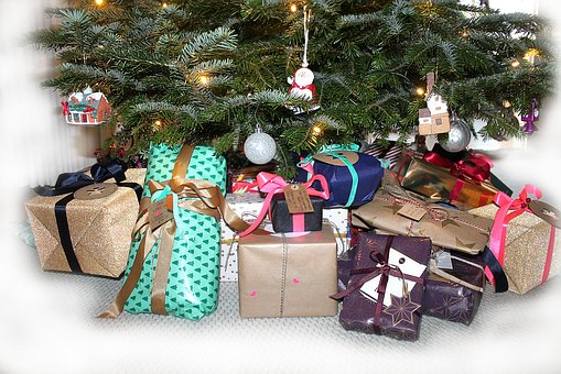 Gift, Gifts, Tape, Packages, Skøjfe, Surprises