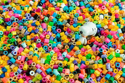 Colorful, Beads, Snoopy, Cheerful, Activities