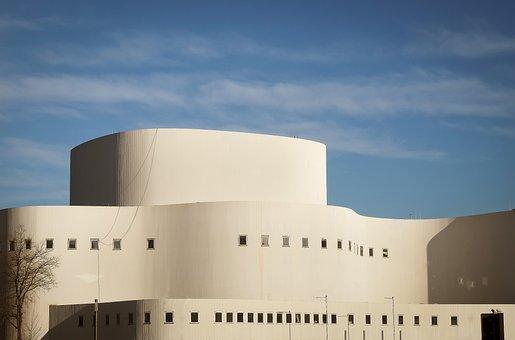 Architecture, Modern, Building, Facade, Abstract