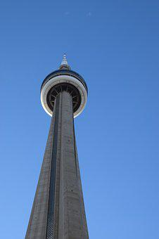 Cn Tower, Architecture, Communications, Tower, Cn