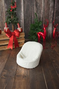 Christmas, Newborn Backdrop, Backdrop, Baby, Decor
