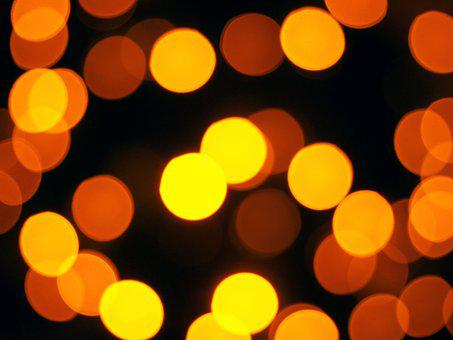 Bokeh, Light, Background, Points, Out Of Focus, Circle