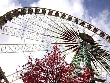 Bad Hersfeld, Lullusfest, Ferris Wheel, Bellevue