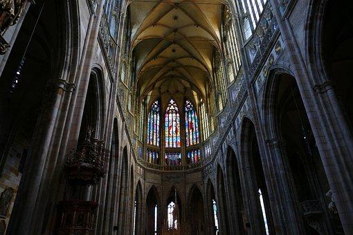 Cathedral, Prague, Church, Czech Republic, Historically