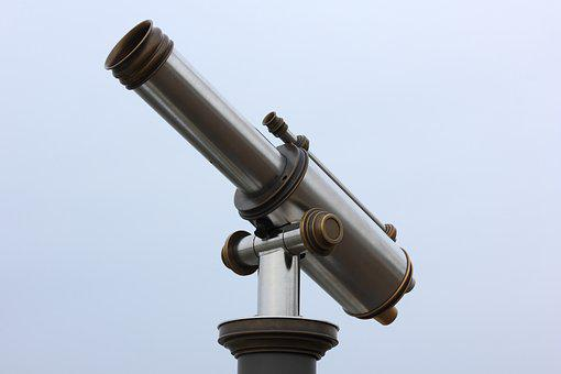 Belgium, Antwerp, Coin, Operated, Telescope, Viewer