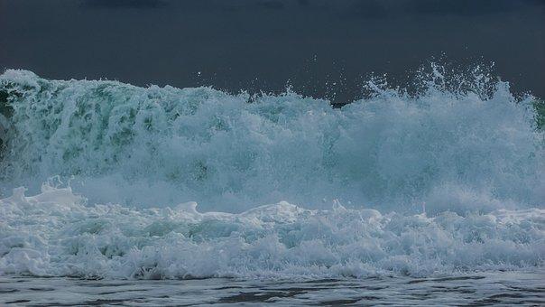 Wave, Water, Wall, Sea, Liquid, Nature, Foam, Spray