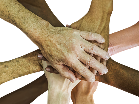 Hands, Teamwork, Team-spirit, Cheer Up, Team, People