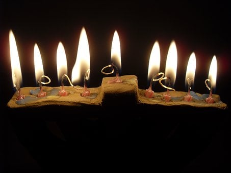 Hanukkah, Spend, Lights, Advent, Mood, Candles