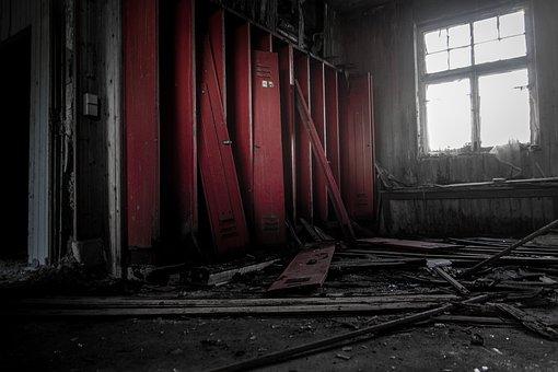 Leave, Lapsed, Locker, Locker Room, Abandoned Places