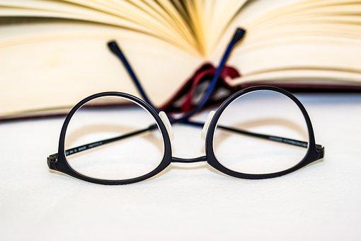 Glasses, Lenses, Reading Glasses, Eyeglass Frame