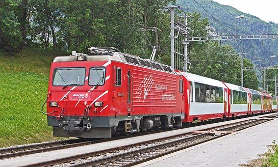 Glacier Express, Matterhorn-gotthard-bahn, Mgb