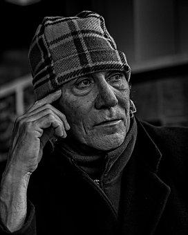 People, Mature, Latin, Male, Man, Pensive, Adult, 50s