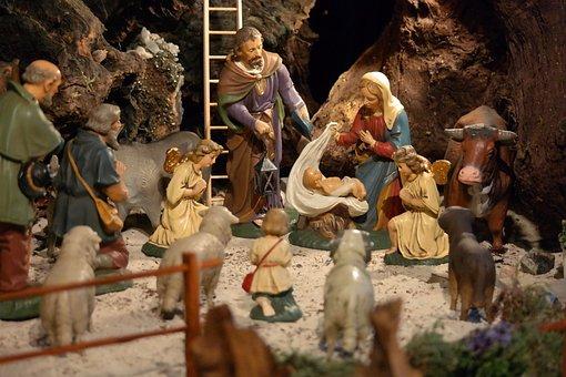 Christmas, Crib, Nativity Scene, Jesus, Christ Child