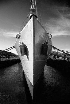 Ship, Hms Cavalier, Marine, Naval, Kent, Navy, Boat