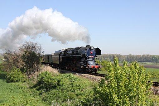 Steam Locomotive, Special Train, Railway, Nostalgia