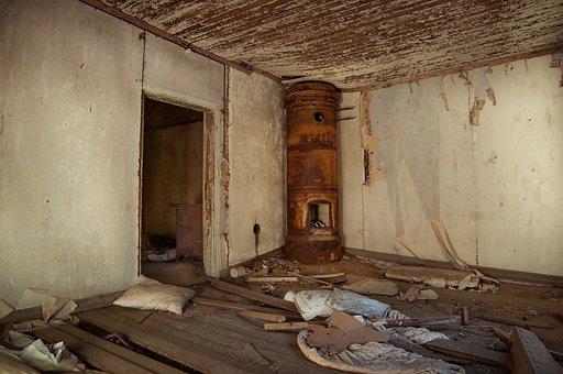 Abandoned, House, Old, Broken, Vintage, Dirty, Room