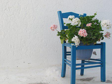 Simplicity, Chair, Architecture, Old, Greek