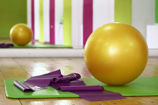 Workout, Ball, Pilates, Fitness, Gym, Training, Fit