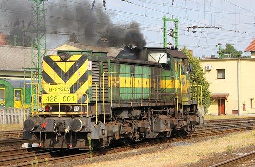 Diesel Locomotive, Railway, Verschublok, Gysev