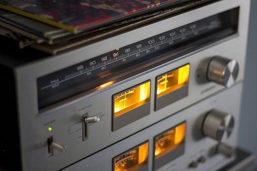 Hifi, Hi-fi, Radio, Records, Classic, Design, Audio