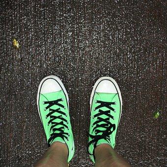 Shoes, Steps, Forward, Strings, Walk, Feet, Psychology