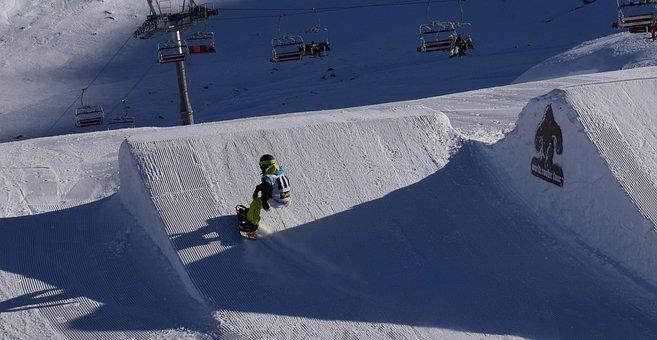 Snowboard, Snowboarder, Snow Park, Rider, Snow, Winter