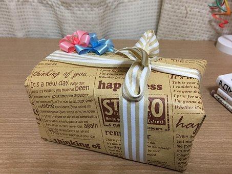 Gift, Christmas, Wrapping