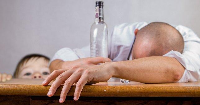 Alcoholic, Alcohol, Alcoholism, Addiction, Child