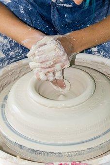 Artisan, Pottery, Handmade, Workshop, Clay, Creativity