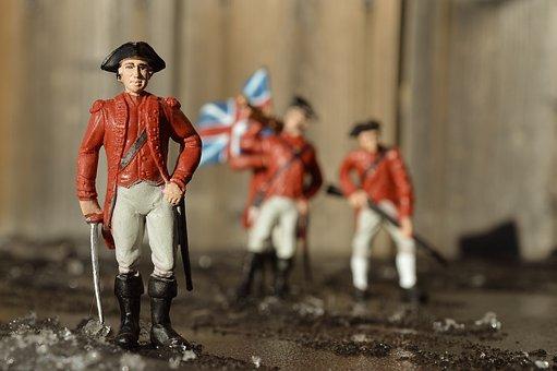 Soldier, British, General, War, Army, Flag, Military