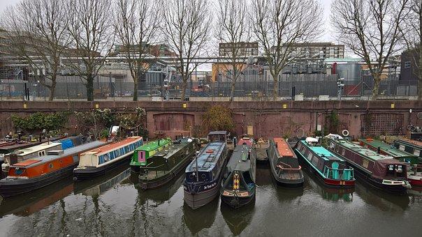 Regent's Canal, Narrowboat, London