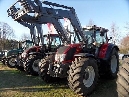 Tractor, Agriculture, Valtra