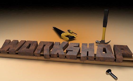 Workshop, Wood, Tool, Learn, Training, Work