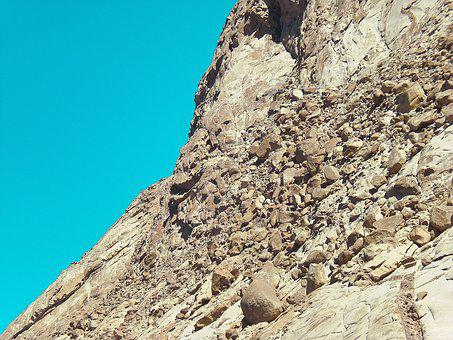 Egypt, Desert, Sinai, Sand, Africa, Mountain
